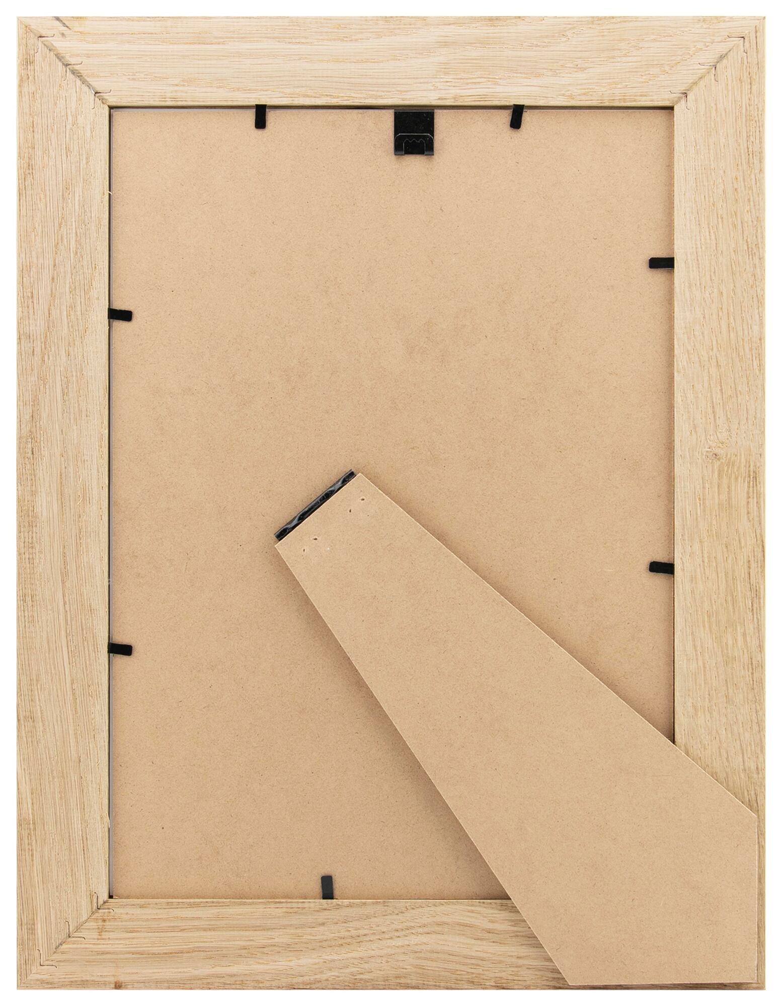 Cornice con passe-partout Inspire nakato rovere 21x29.7 cm - 9