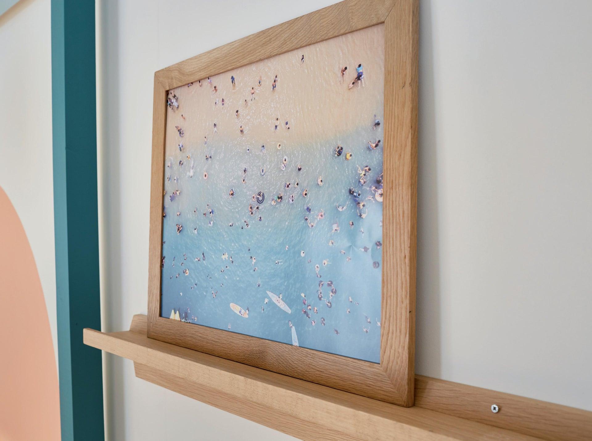 Cornice con passe-partout Inspire nakato rovere 50x70 cm - 2