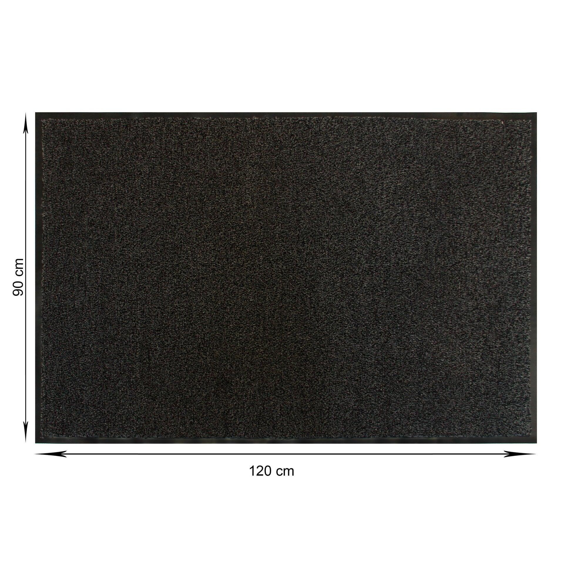 Zerbino Gabriel in polipropilene grigio 90x120 cm - 3
