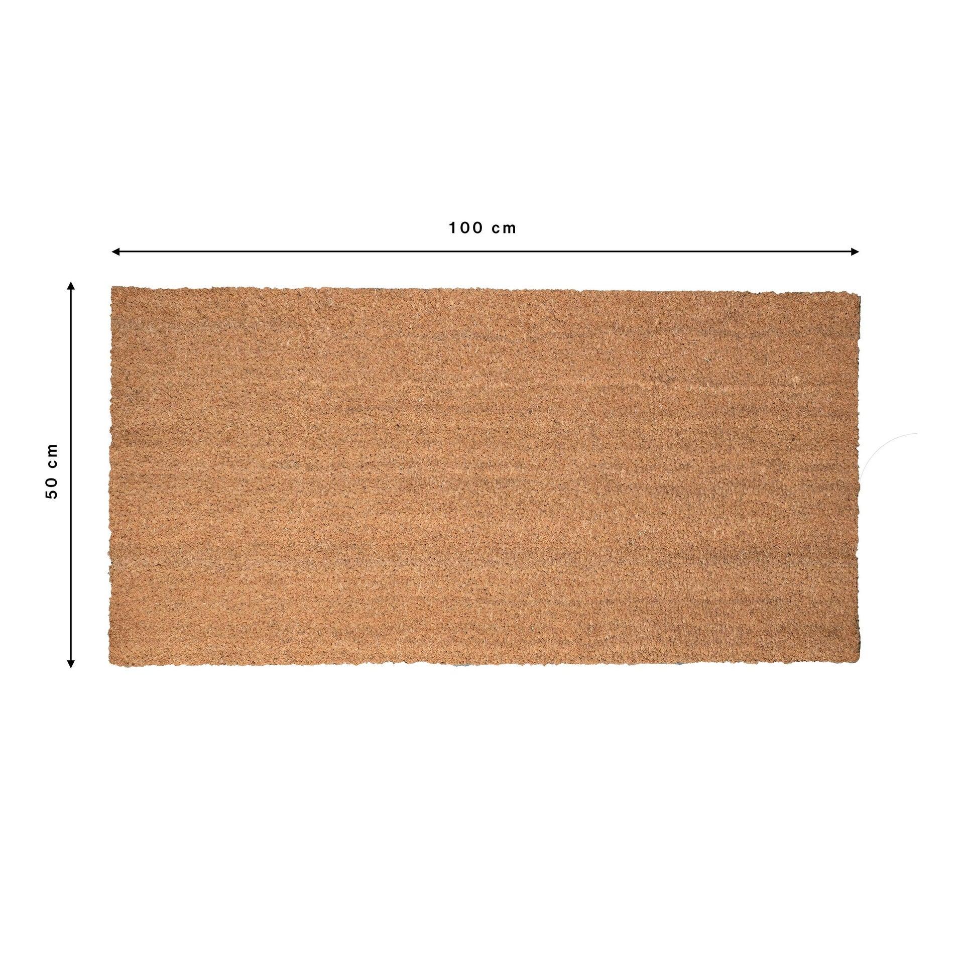 Zerbino Leo in cocco naturale 50x100 cm - 6