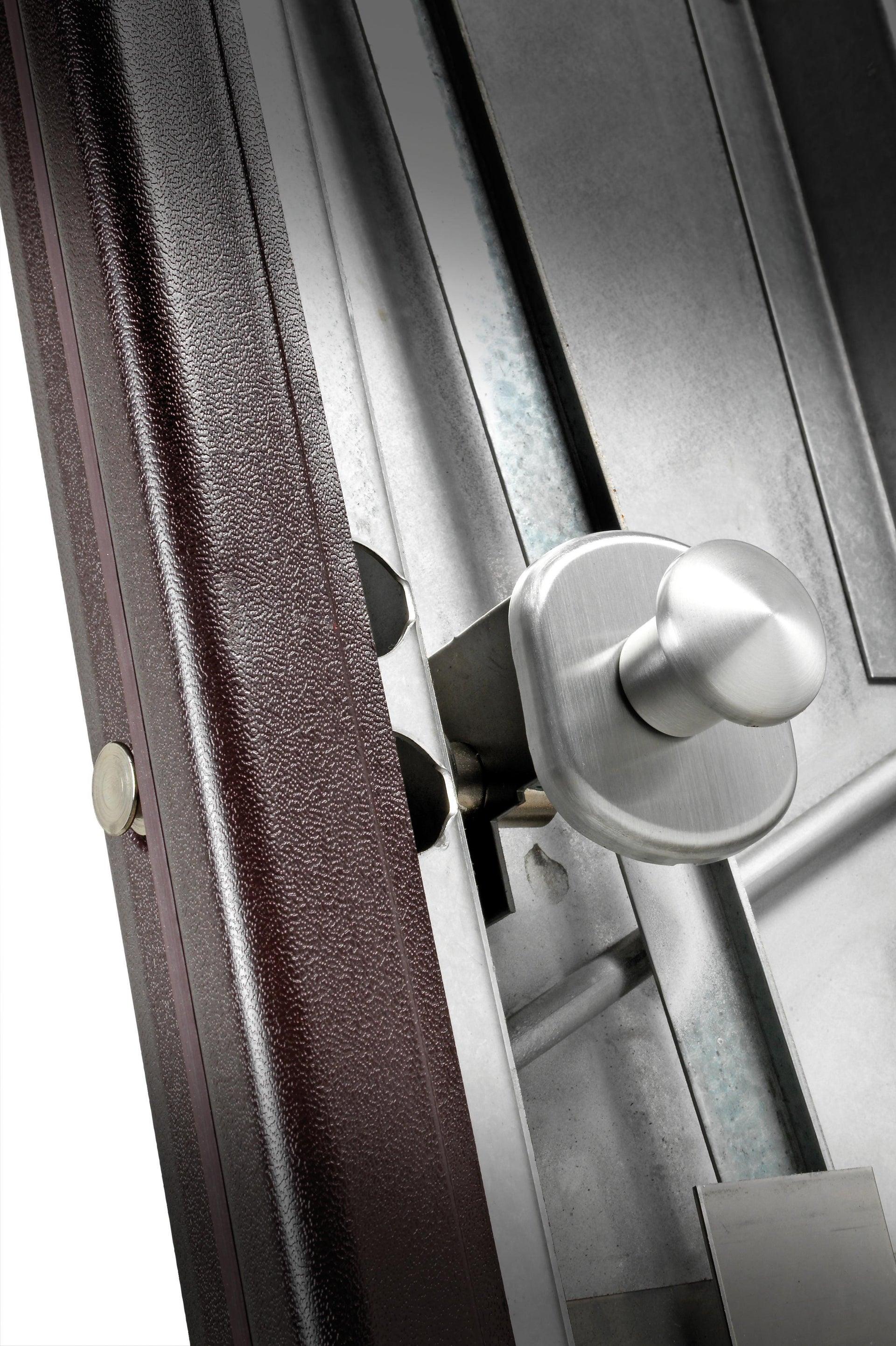 Porta blindata Hammer noce L 90 x H 210 cm sinistra - 3