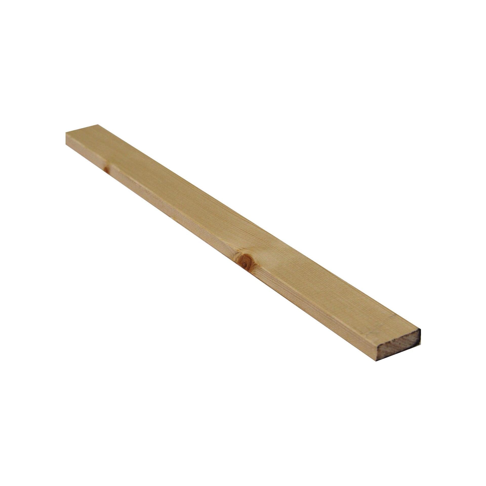 Listello piallato abete 2 m x 30 mm, Sp 9 mm