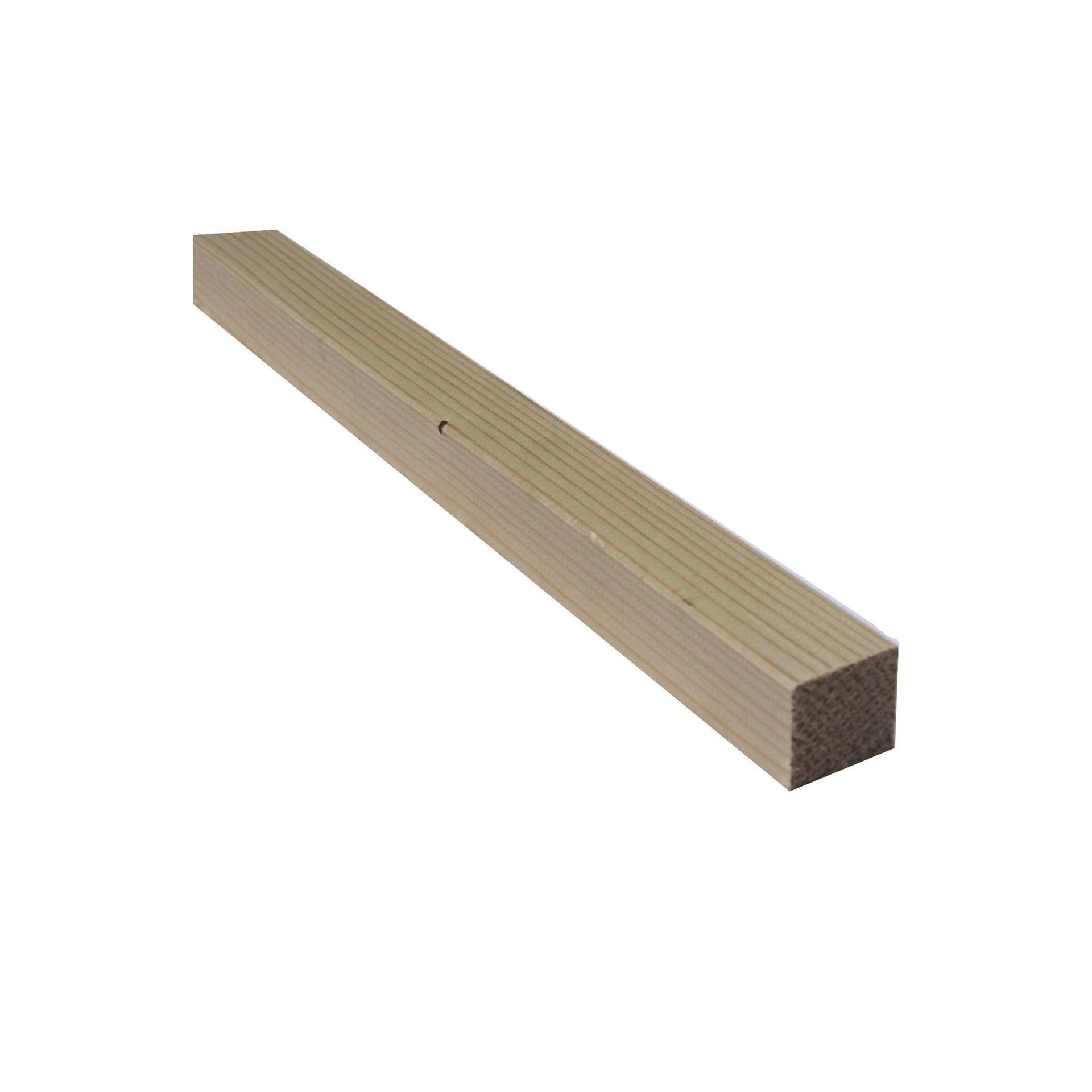 Listello piallato abete 3 m x 29 mm, Sp 29 mm