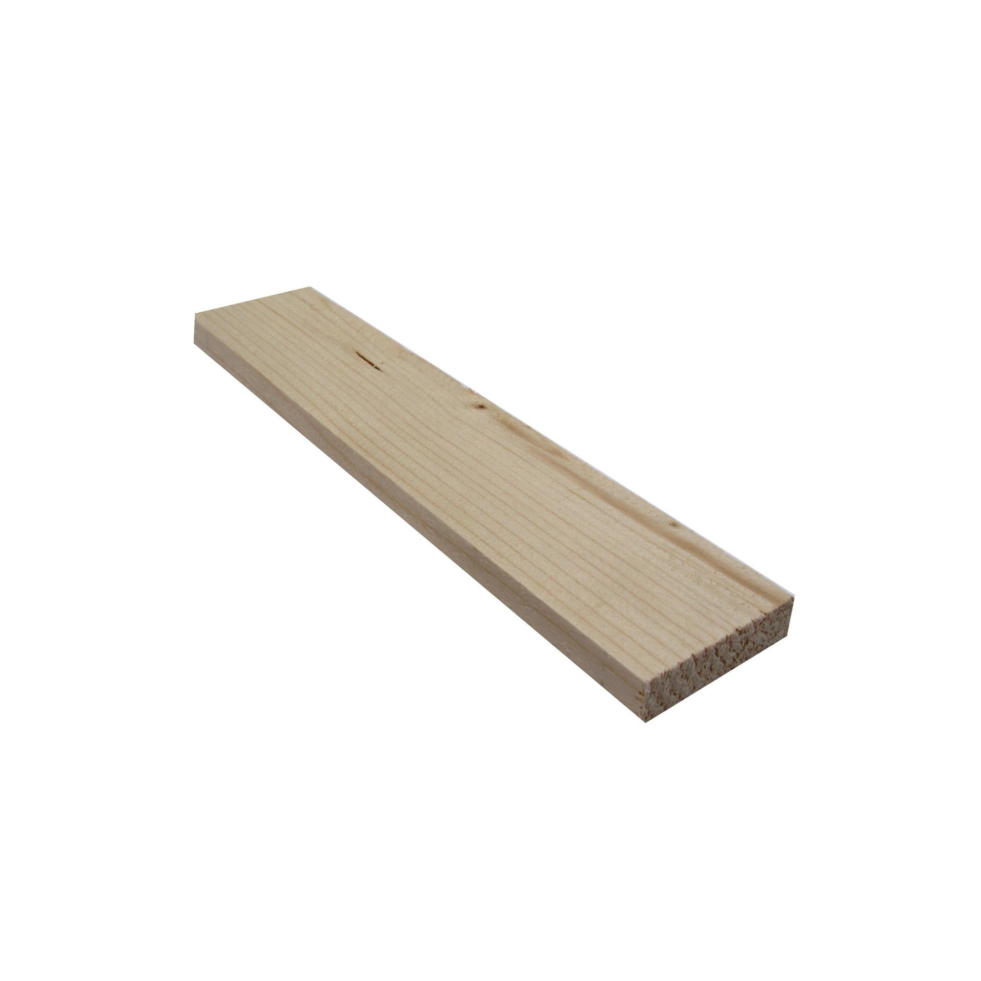 Listello grezzo abete 2 m x 50 mm, Sp 10 mm