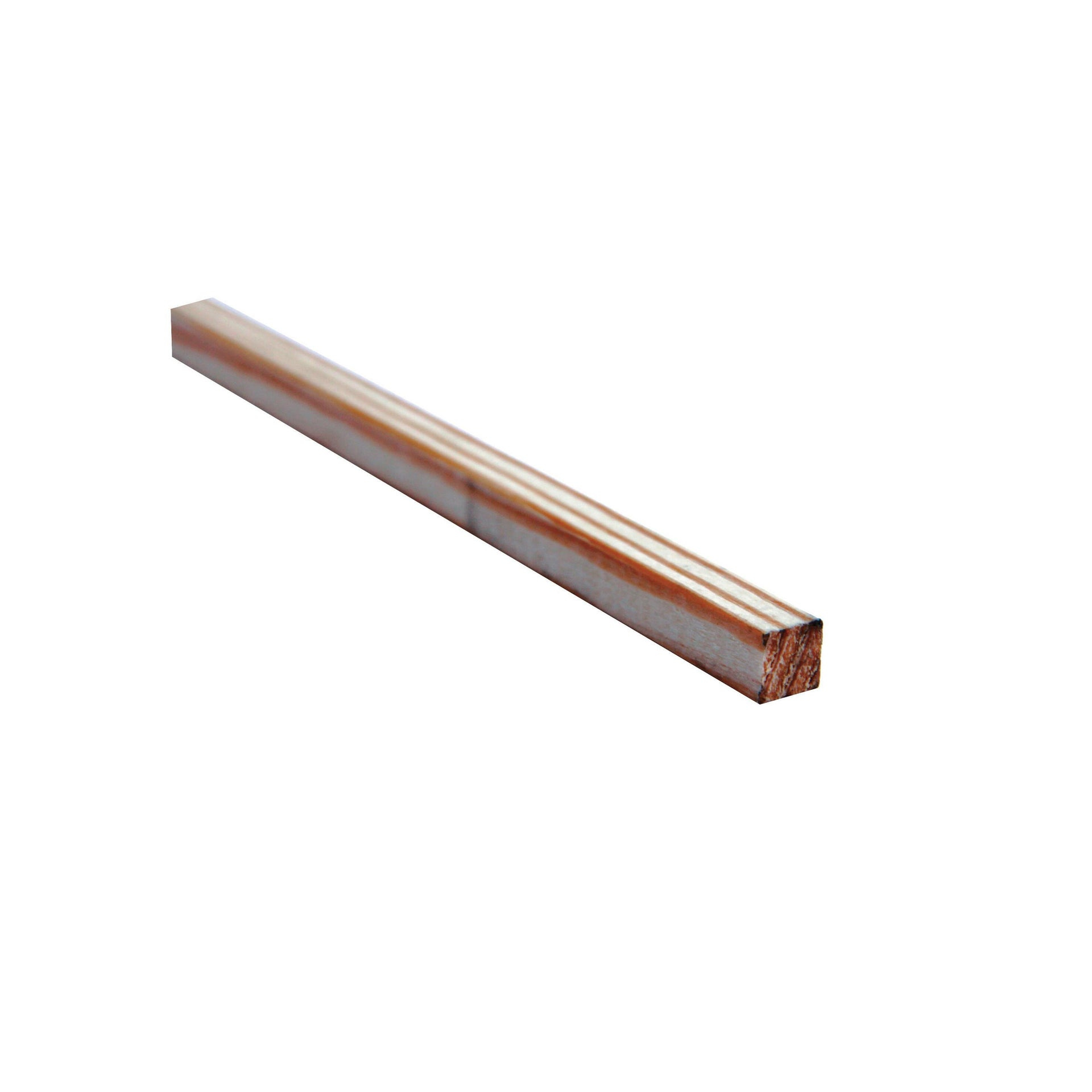 Listello piallato pino 2.1 m x 10 mm, Sp 10 mm