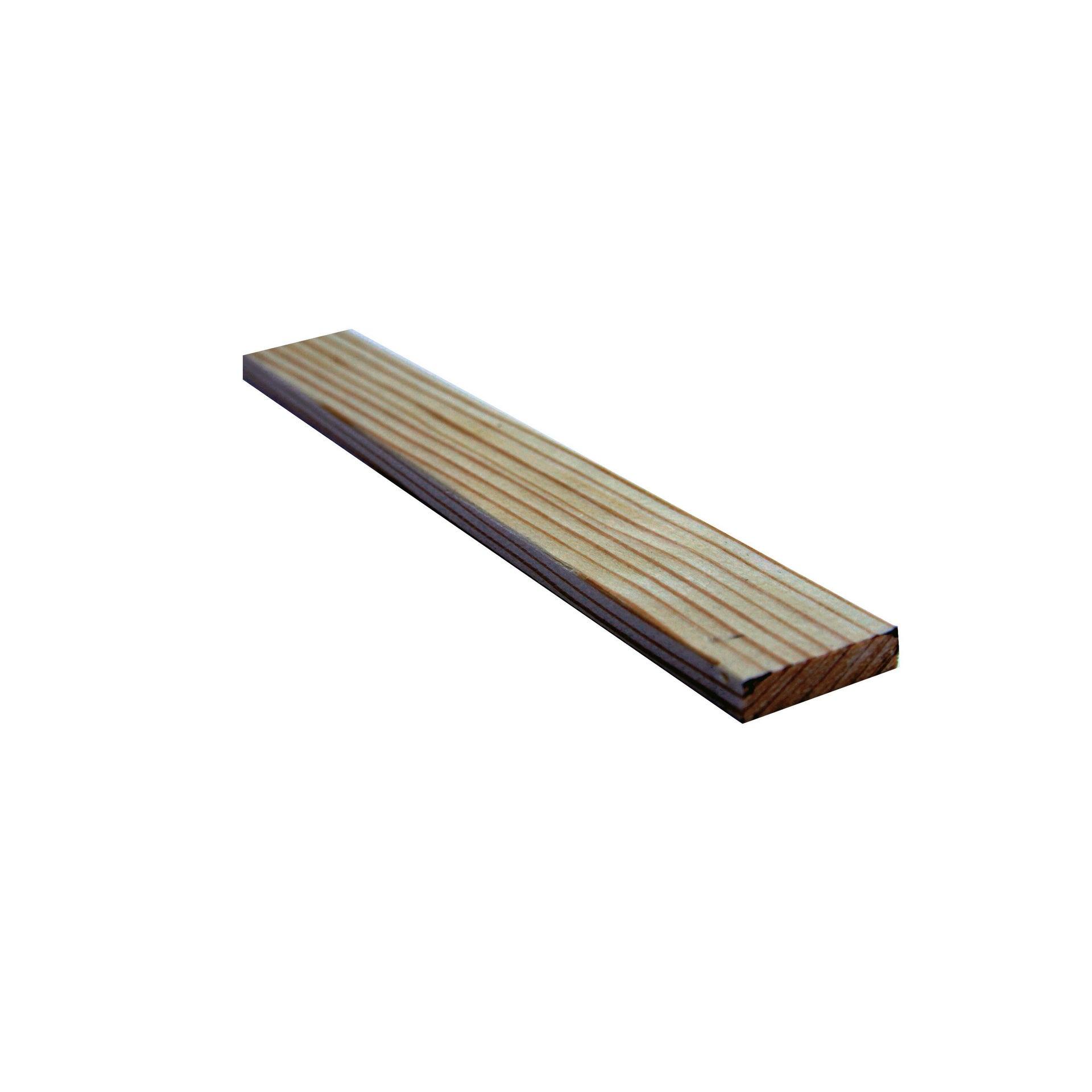 Listello piallato pino 2.1 m x 40 mm, Sp 10 mm