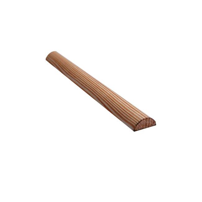 1/2 tondo piallato pino 2.1 m x 12 mm, Sp 30 mm - 1