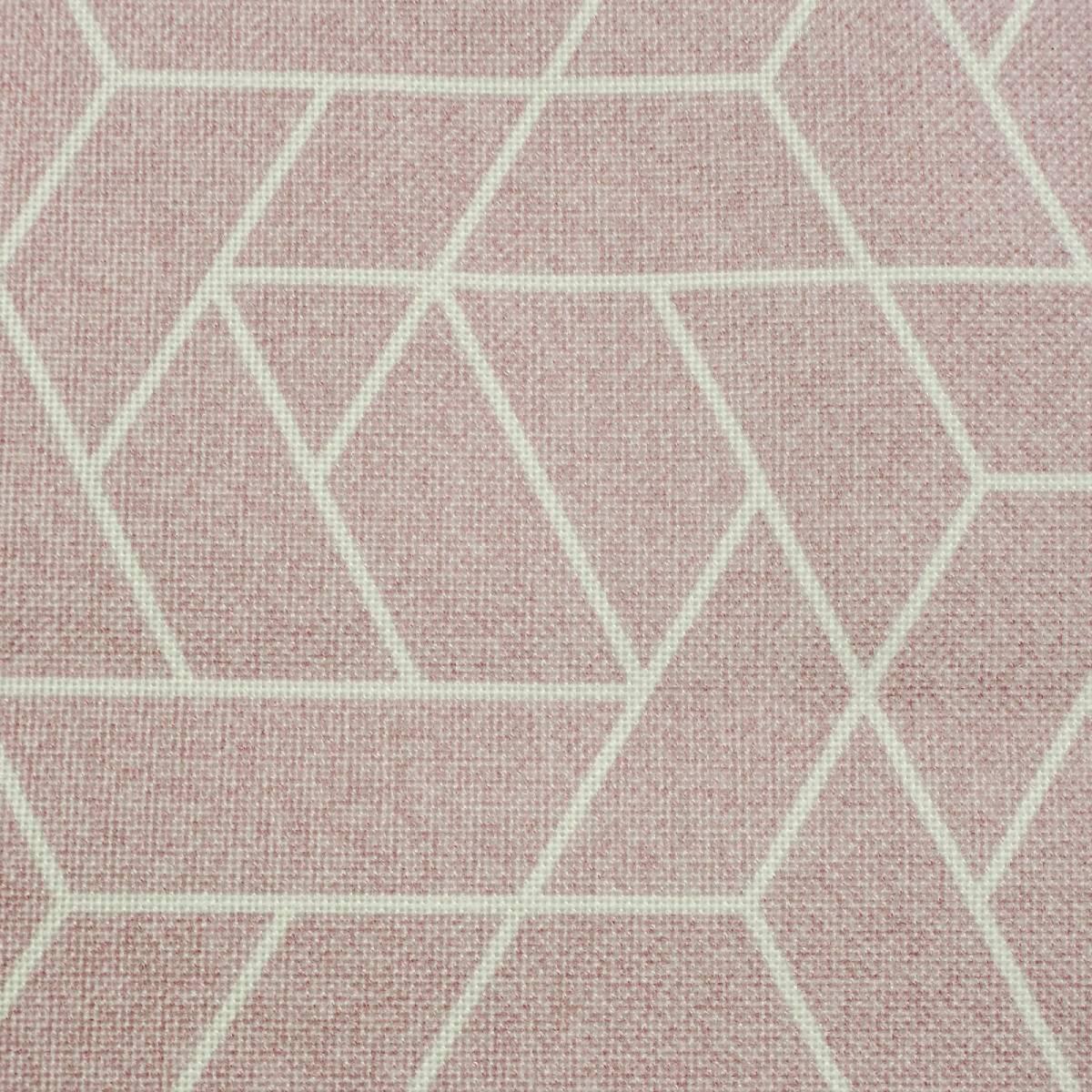 Tenda a pacchetto Geometric rosa 165x175 cm - 3
