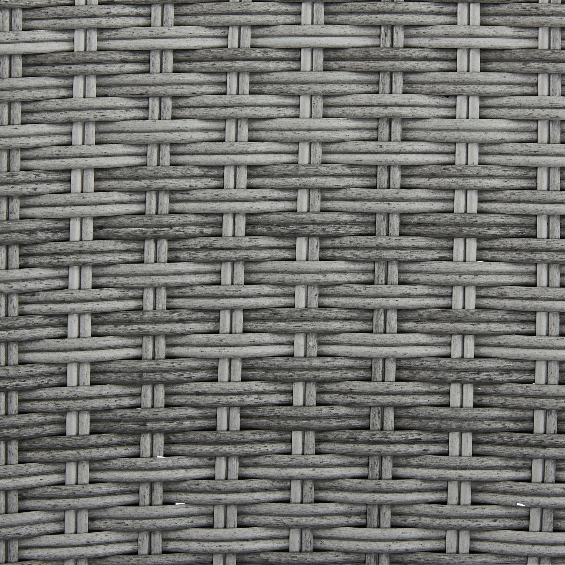 Poltrona da giardino con cuscino in alluminio Davos NATERIAL colore antracite - 2