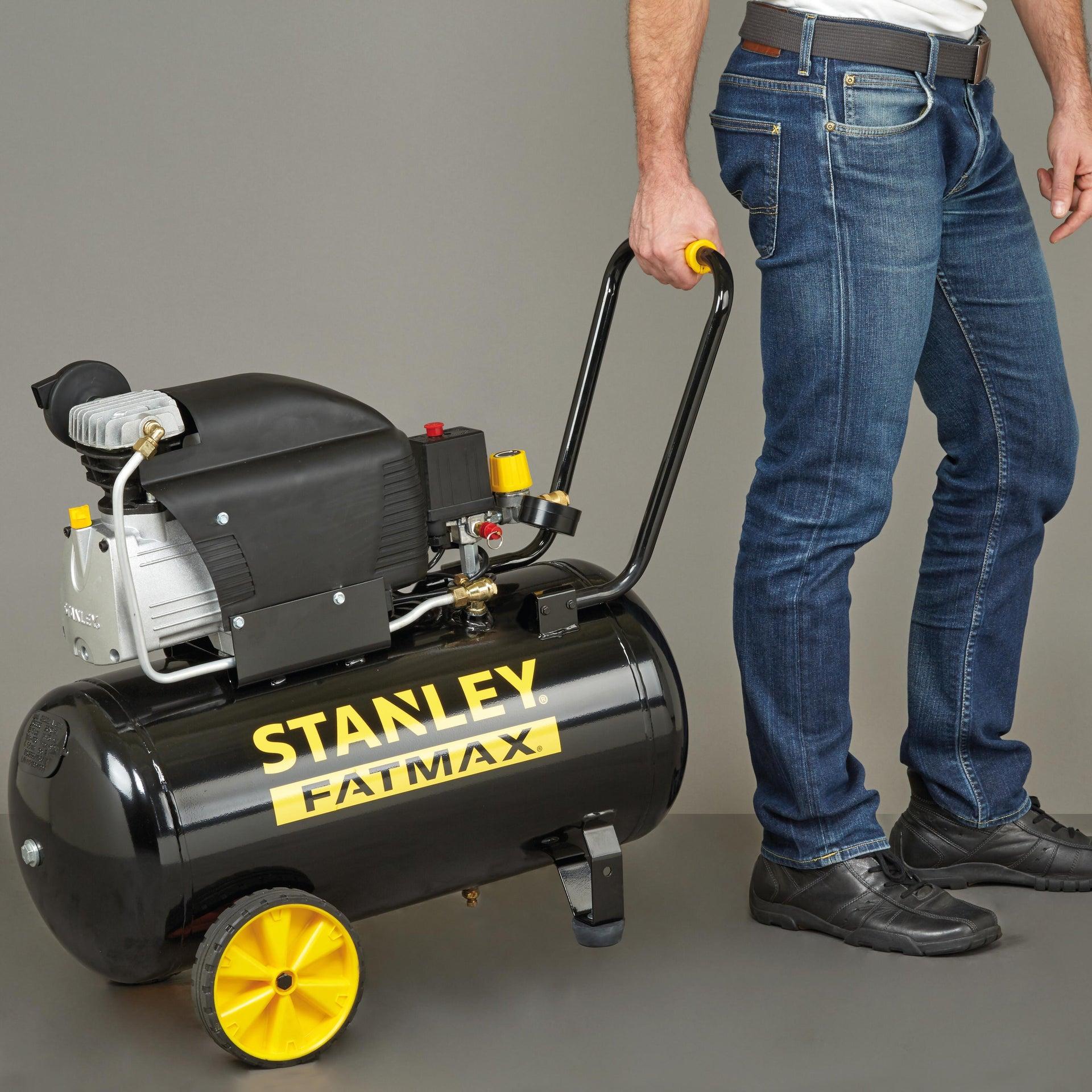 Compressore ad olio STANLEY FATMAX D251/10/50S, 2.5 hp, 10 bar, 50 L - 4
