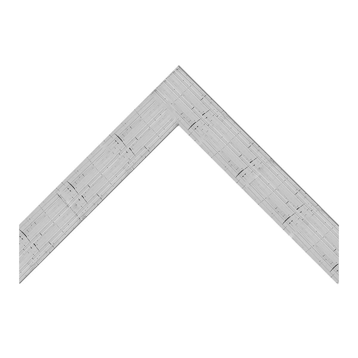 Cornice Bomber argento per foto da 60x90 cm - 2