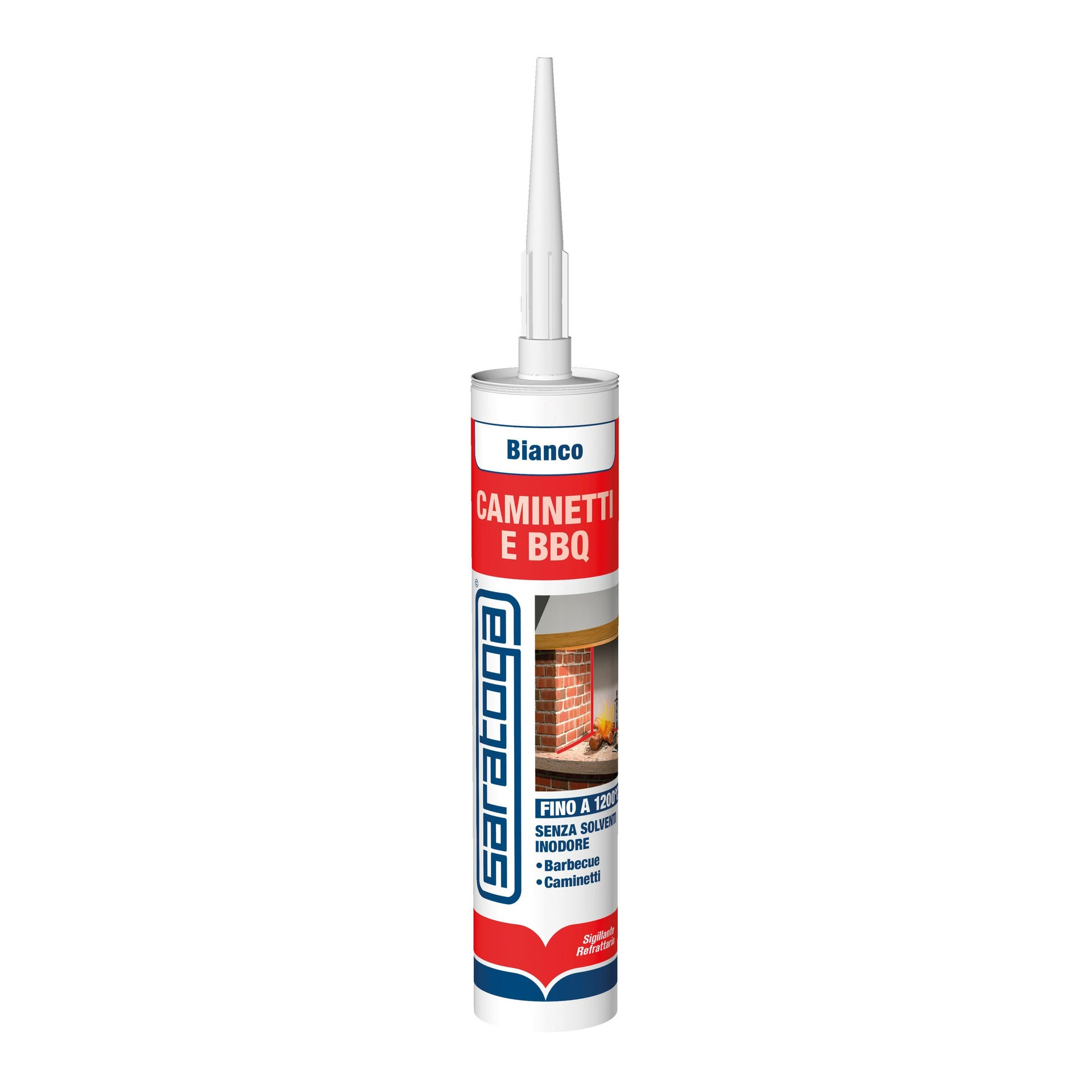 Sigillante SARATOGA Refrattario bianco 280 ml