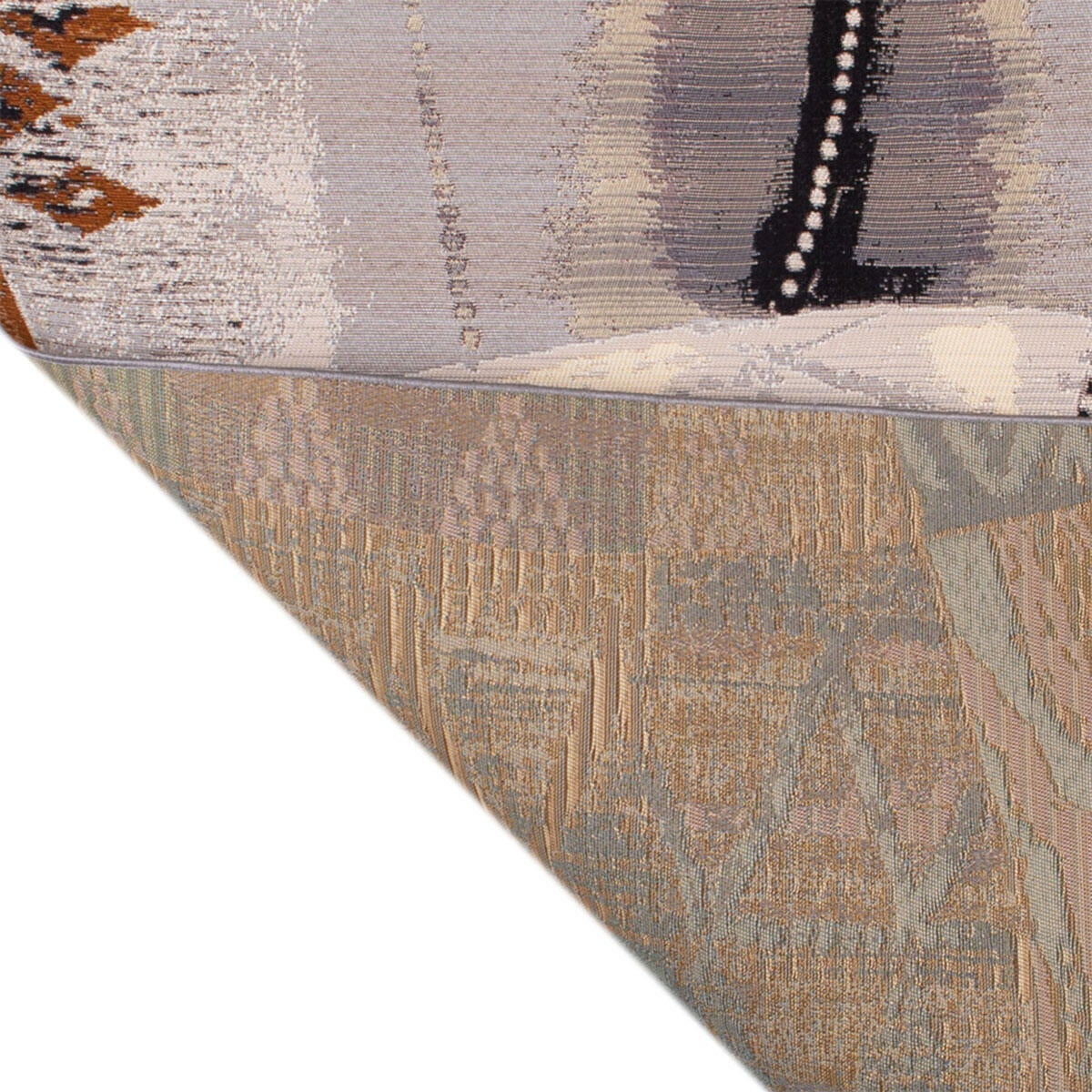 Tappeto per esterno Afrika , bianco, 60x110 - 3