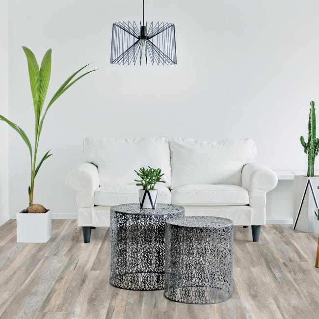 Pavimento PVC adesivo Romance Sp 2.5 mm grigio / argento - 1