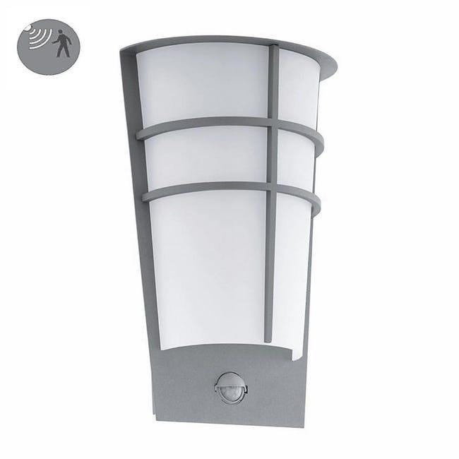 Applique Breganzo LED integrato in acciaio galvanizzato, grigio, 2.5W 180LM IP44 EGLO - 1