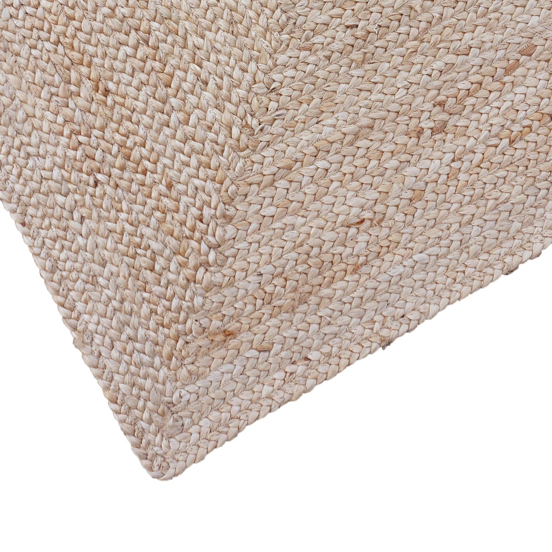 Tappeto Nils in juta, tessuto a mano, naturale, 60x110 - 3