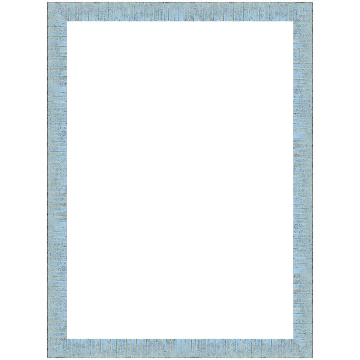 Cornice Medina azzurro<multisep/>oro per foto da 50x70 cm - 2