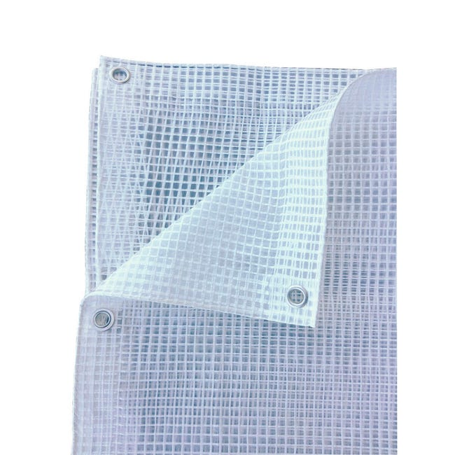 Telo per tenda da esterno trasparente 250 x 300 cm - 1