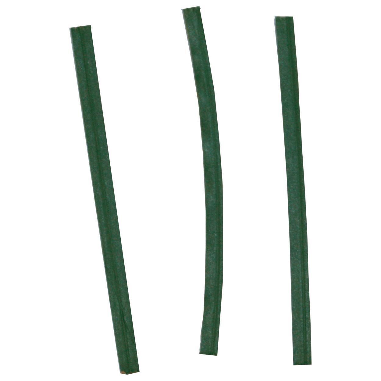 Fascetta semplice verde in acciaio 10 cm x 100 pezzi - 3