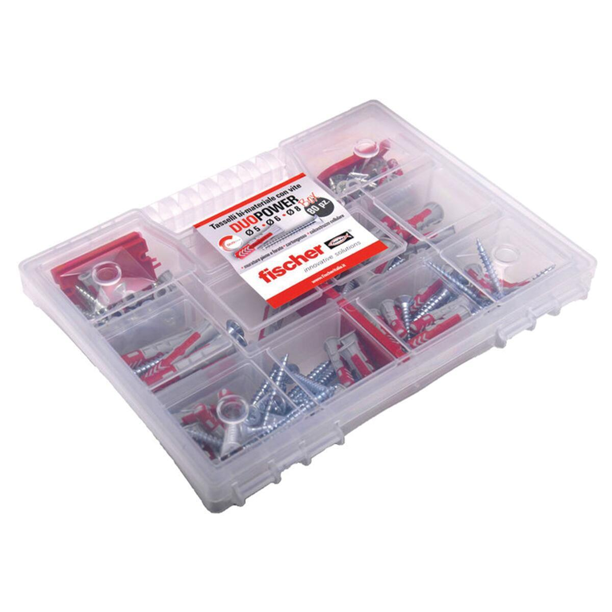 Kit di fissaggio FISCHER 80 pezzi - 2
