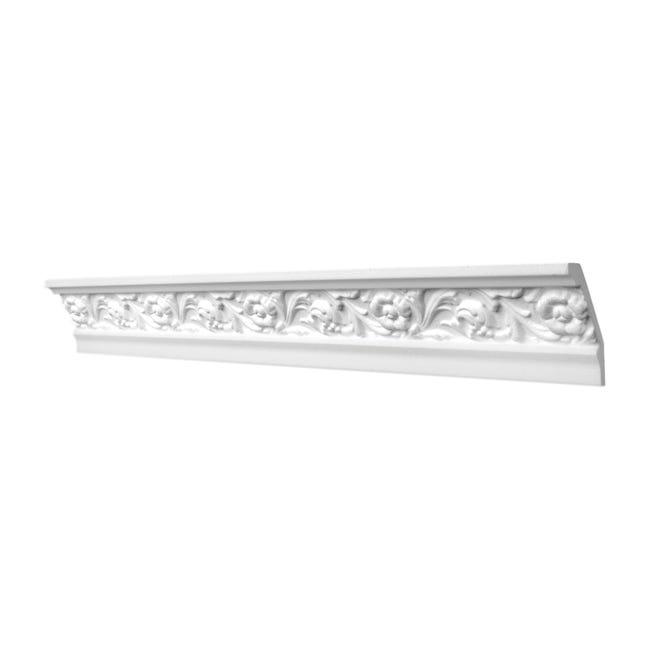 Cornice in polistirene Gracia 8 x 200 cm - 1