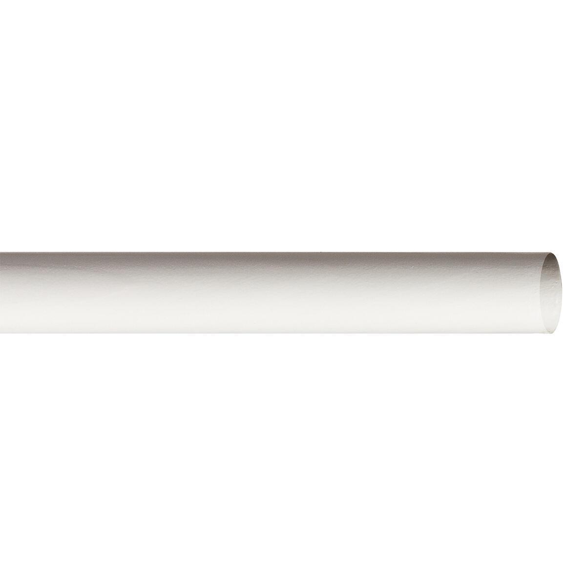 Bastone per tenda Brest in legno Ø 28 mm bianco opaco 240 cm