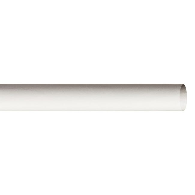 Bastone per tenda Brest in legno Ø 28 mm bianco opaco 240 cm - 1