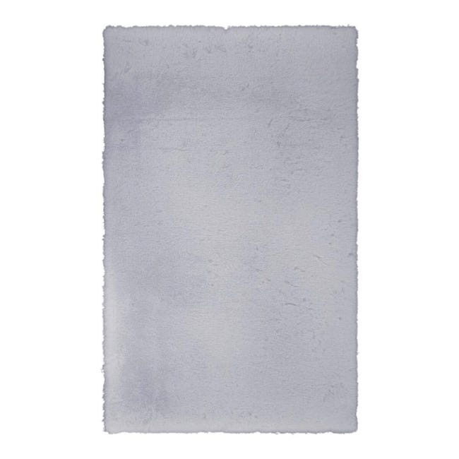Tappeto Carezza , argento, 80x120 - 1
