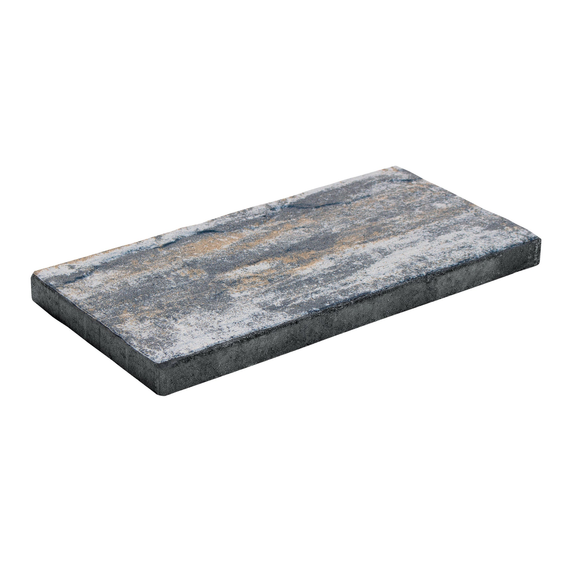 Passo giapponese in pietra ricostituita LASTRA LATINA MIX LUSERNA 24 x 3 cm - 1