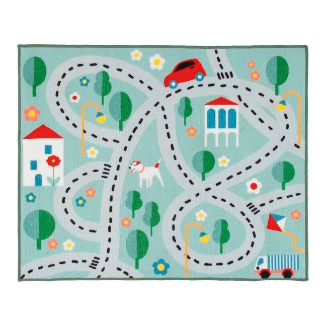Tappeto Playrug city , colori assortiti, 100x120 - 1