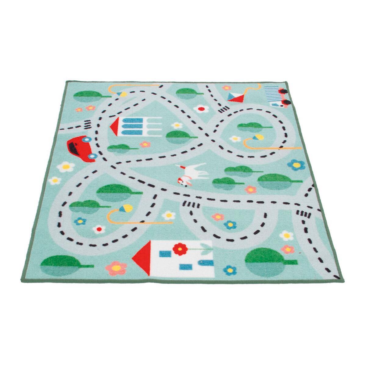 Tappeto Playrug city , colori assortiti, 100x120 - 6