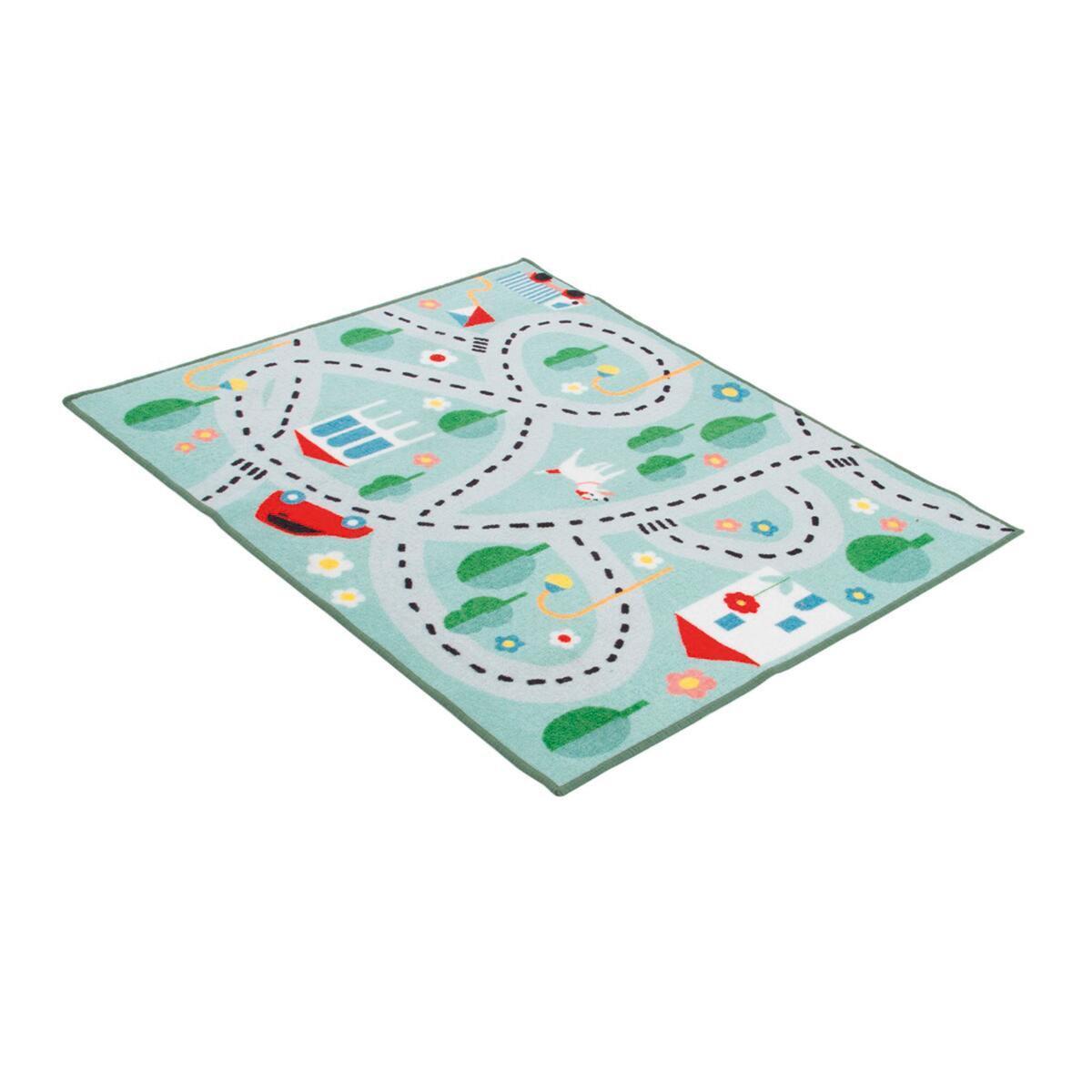 Tappeto Playrug city , colori assortiti, 100x120 - 5