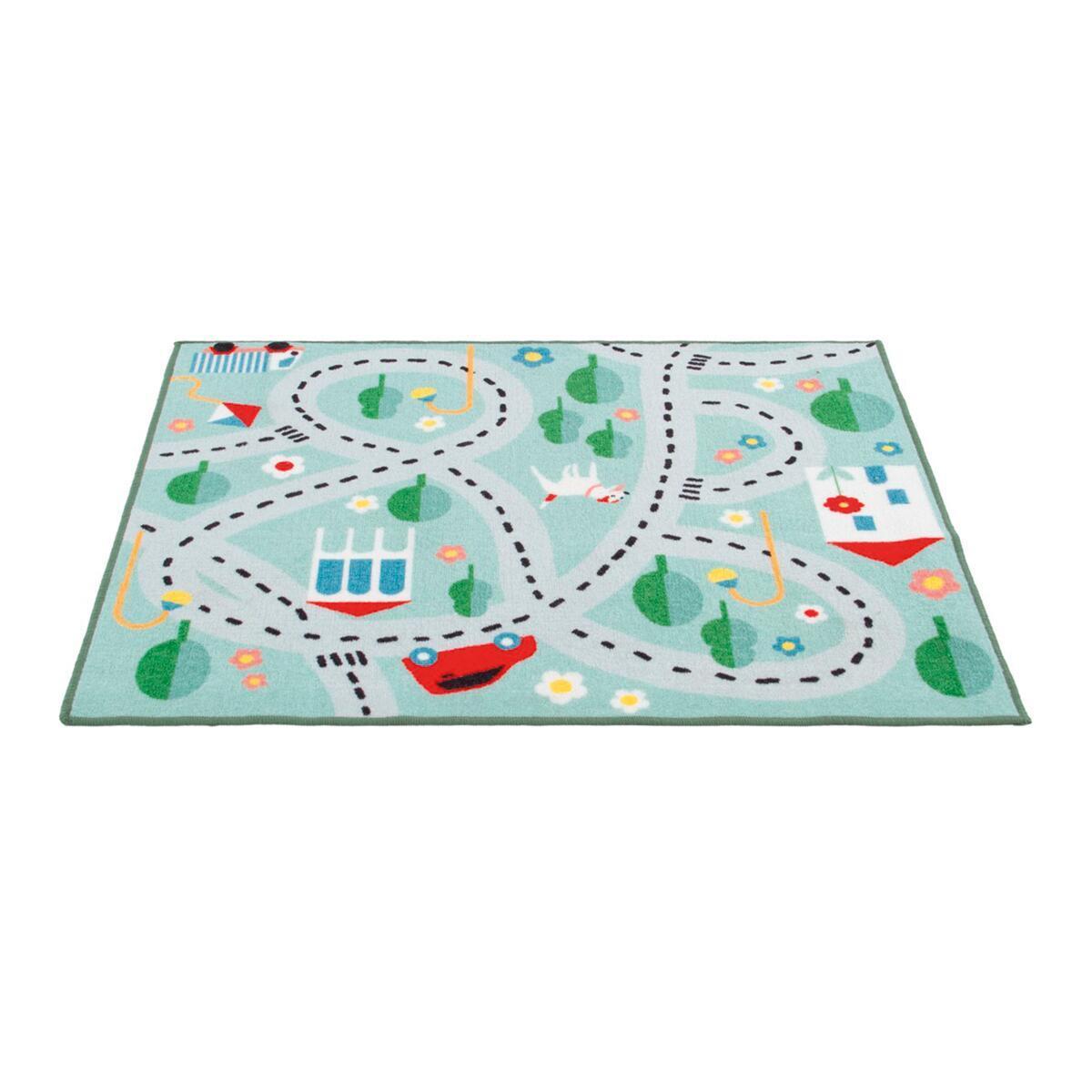 Tappeto Playrug city , colori assortiti, 100x120 - 7