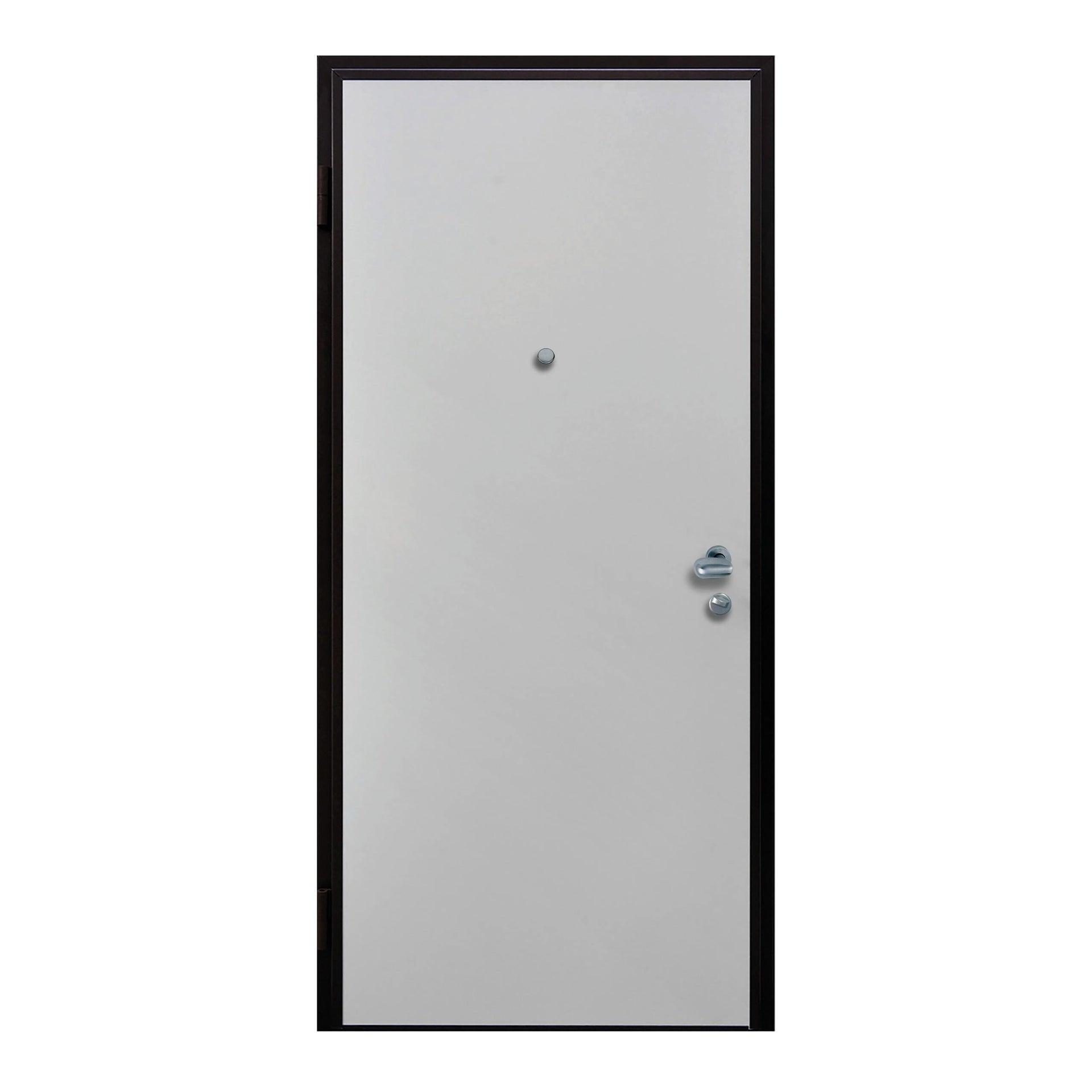 Porta blindata Confort bianco L 90 x H 210 cm destra - 3
