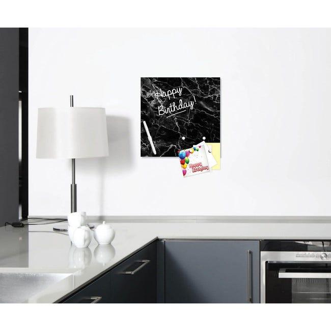 Lavagna Marble nero 30x30 cm - 1