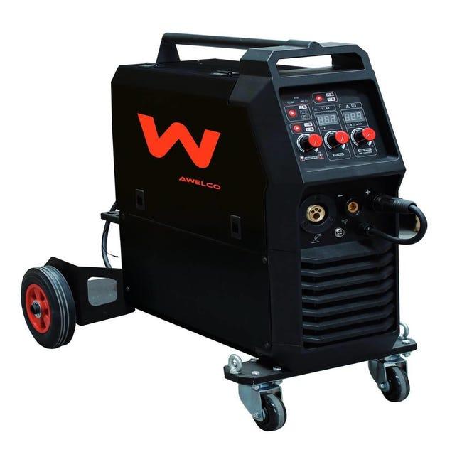 Saldatrice inverter AWELCO MIG 350 mma, mig-mag, mog 250 A 7000 W - 1