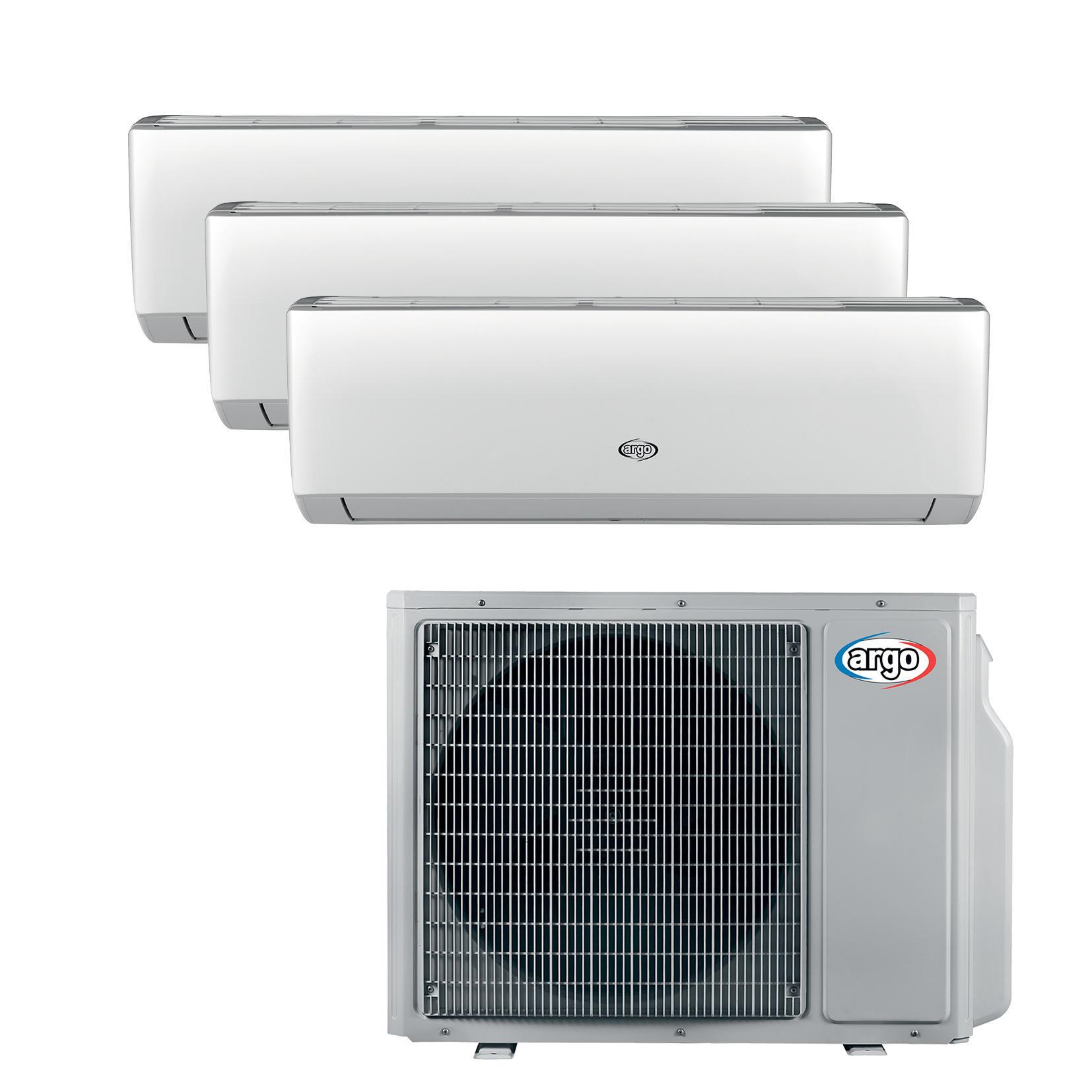 Climatizzatore trialsplit ARGO X3 12000 BTU - 1