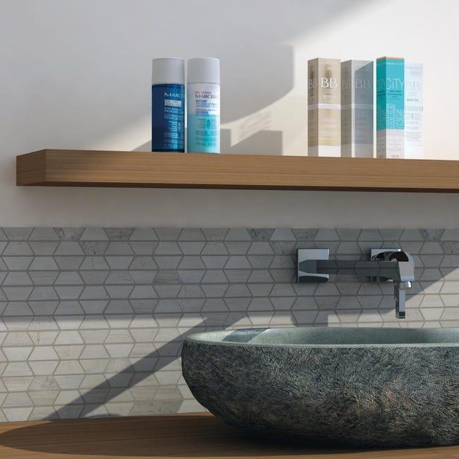 Mosaico H 30 x L 30 cm grigio - 1