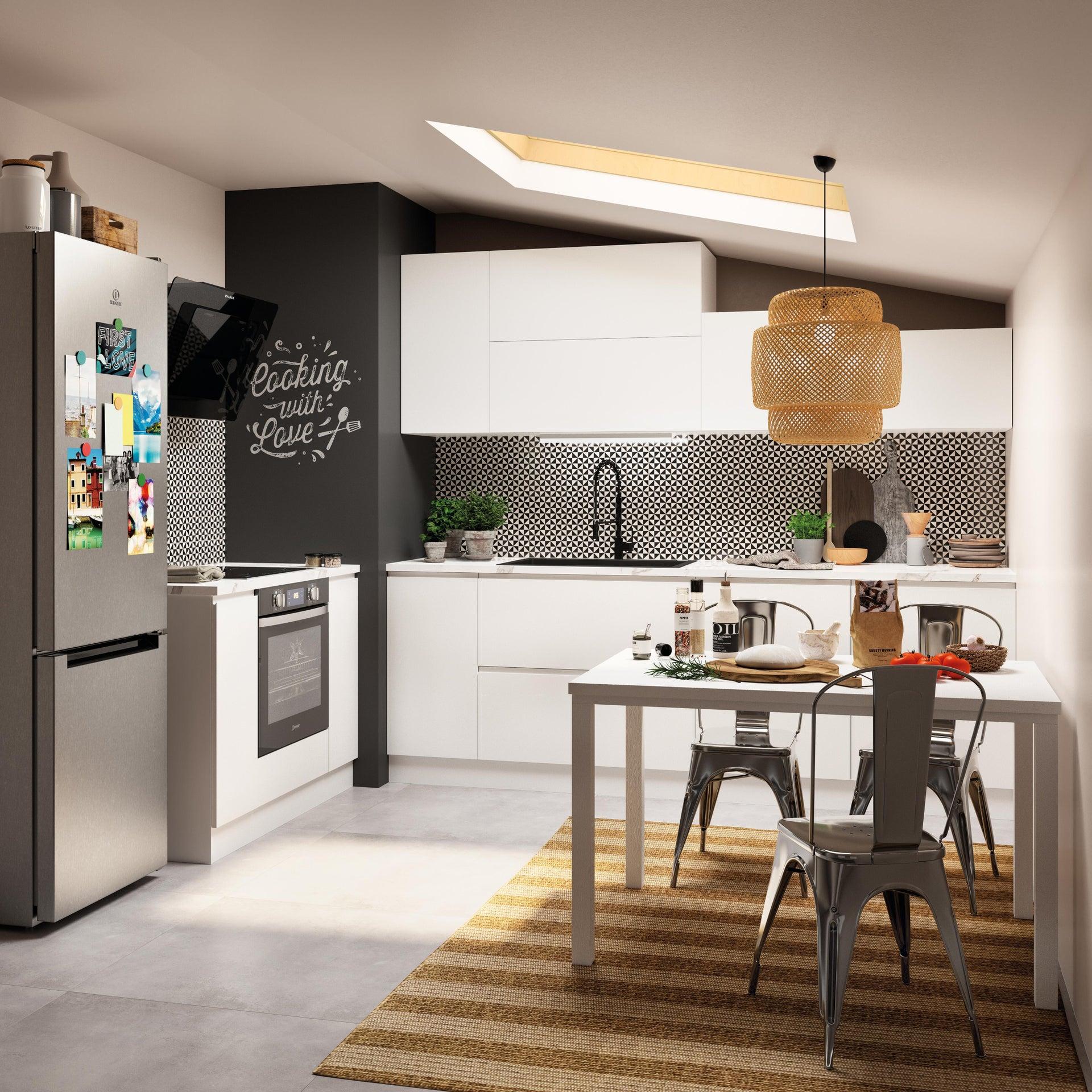 Miscelatore da cucina Thomas verniciato nero, DELINIA - 2