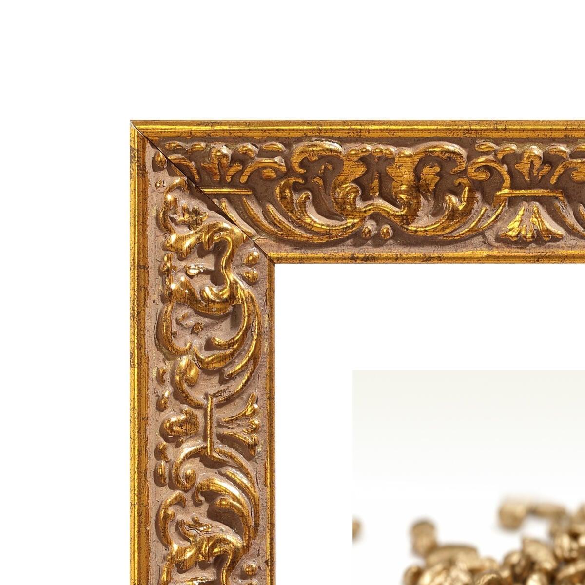 Cornice Amber dorato per foto da 50x70 cm - 2