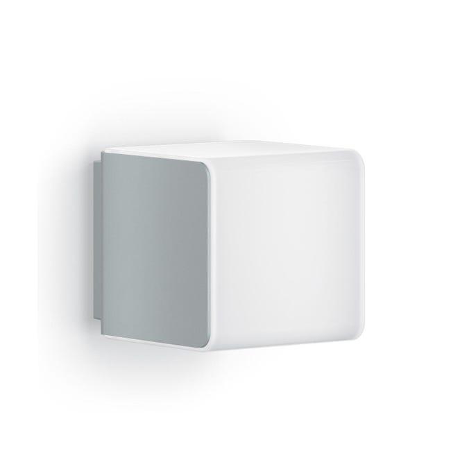 Applique L 840 LED integrato con sensore di movimento, grigio, 9.5W 305LM IP44 STEINEL - 1