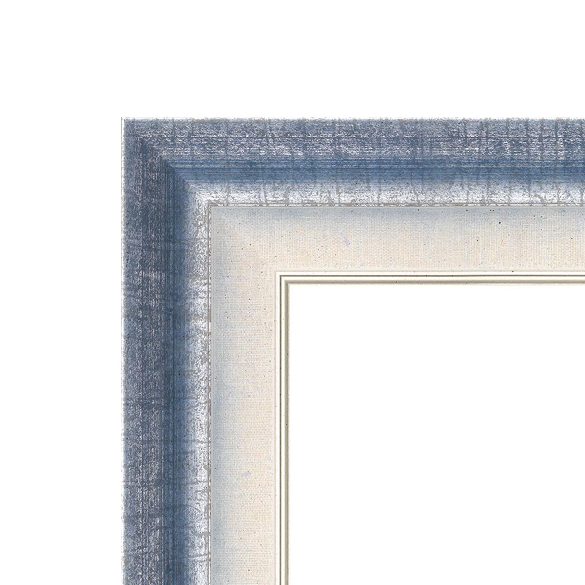 Cornice Tamara azzurro per foto da 50x70 cm - 3