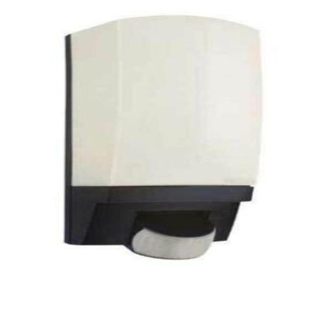 Applique L1 con sensore di movimento, nero, E27 MAX60W IP44 STEINEL - 1