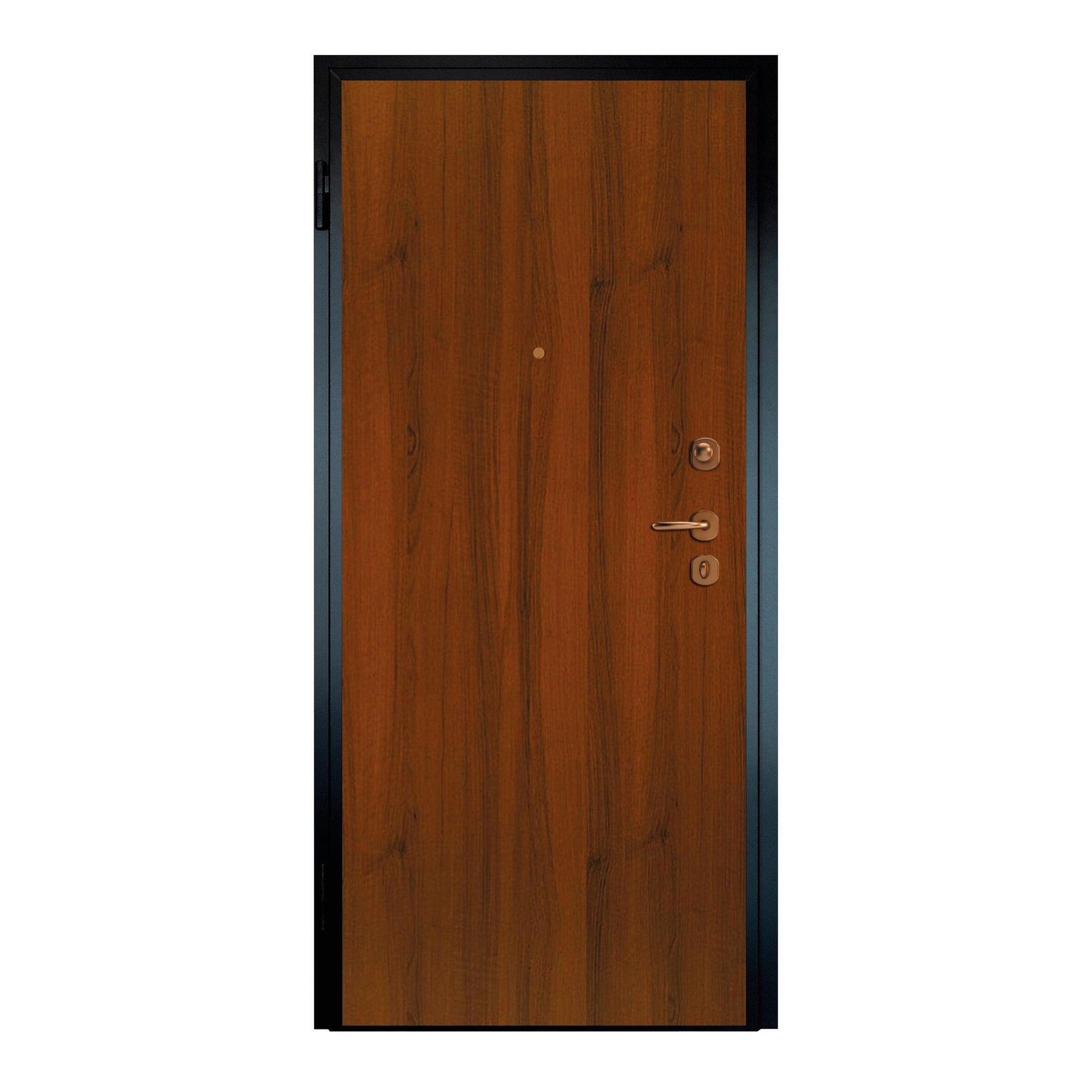 Porta blindata Super noce L 90 x H 210 cm sinistra - 1