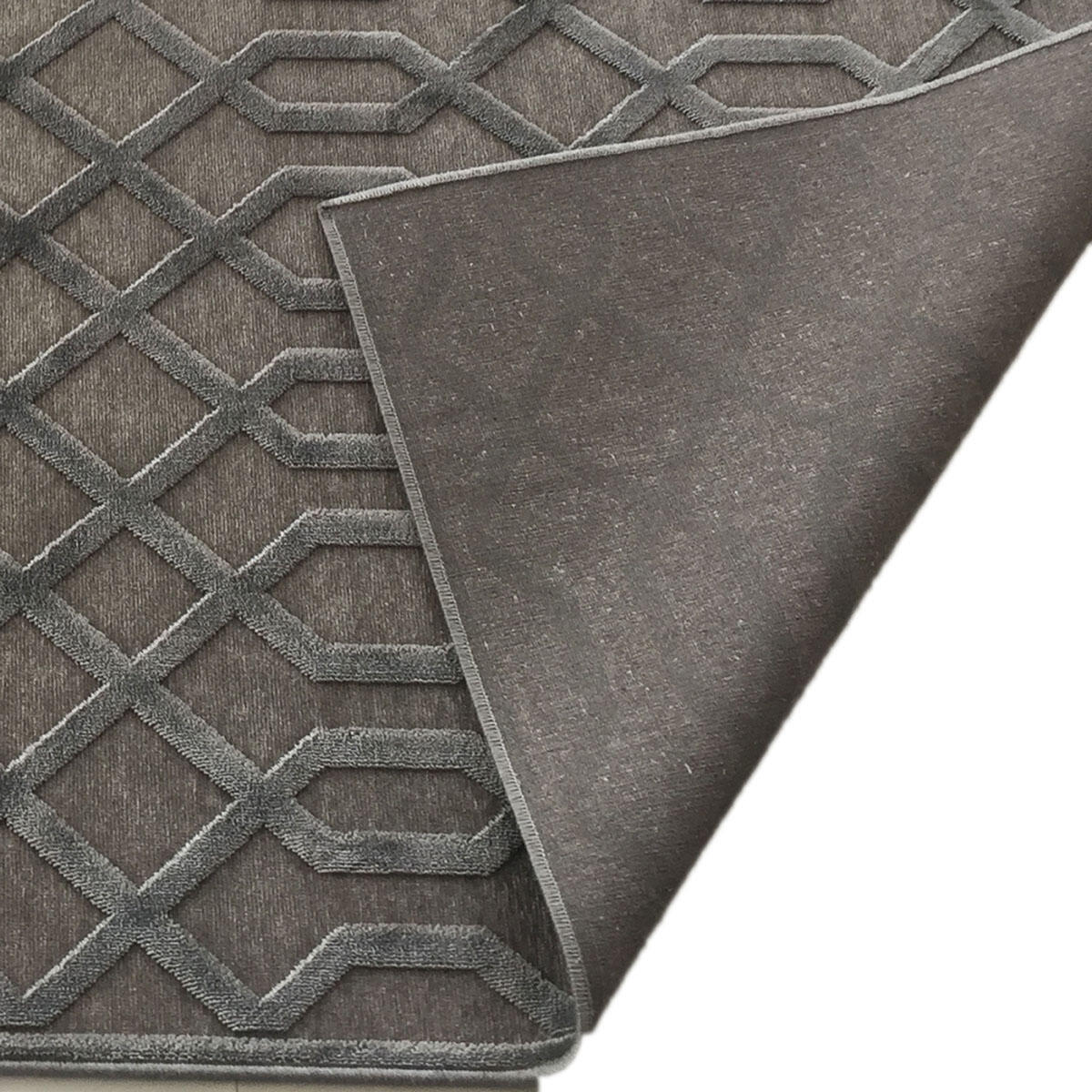 Tappeto farashe 2 , grigio, 140x200 - 2