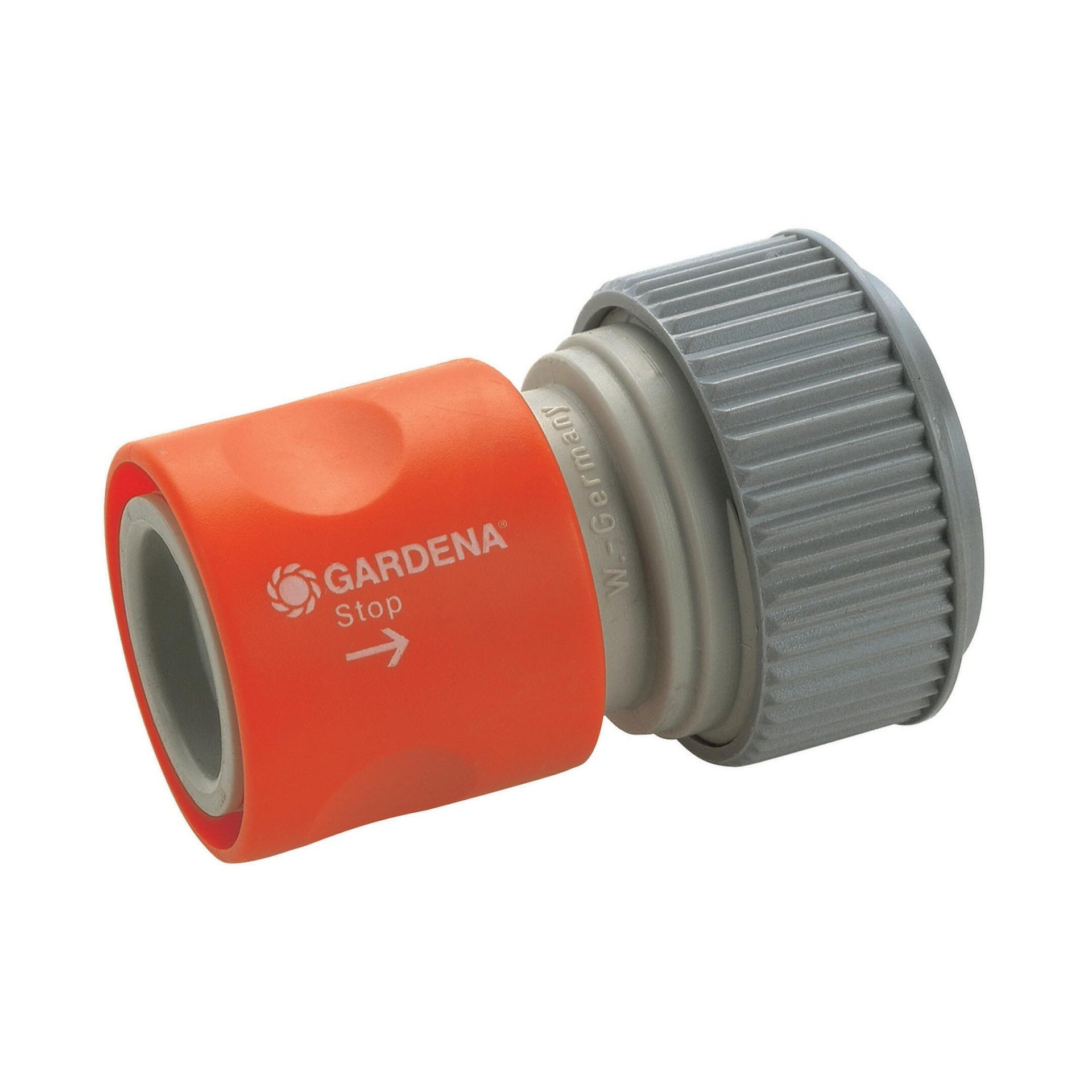 Connettore rapido femmina GARDENA Aquastop 19 mm - 2