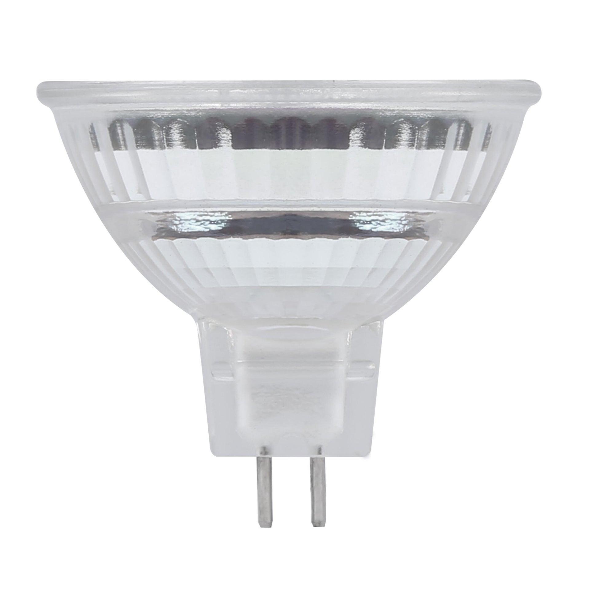 Lampadina LED, GU5.3, Faretto, Opaco, Luce naturale, 8W=700LM (equiv 50 W), 100° , LEXMAN - 8