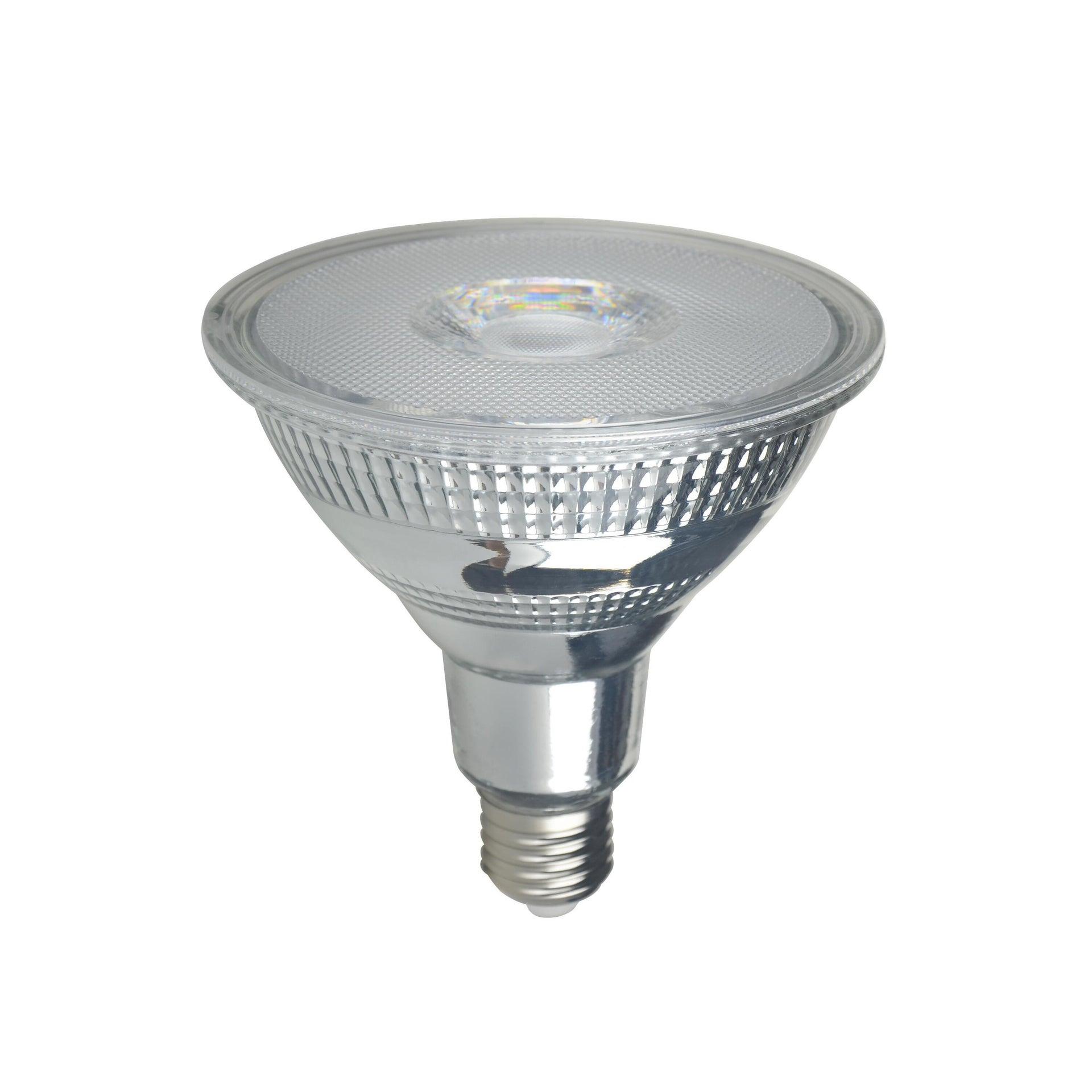 Lampadina LED, E27, Faretto, Trasparente, Luce calda, 10.5W=875LM (equiv 100 W), 30° , LEXMAN - 7