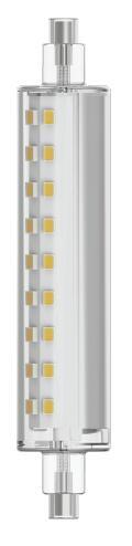 Lampadina LED, R7S, 118 mm, Lineare, Trasparente, Luce naturale, 10.5W=1521LM (equiv 100 W), 130° , LEXMAN - 1