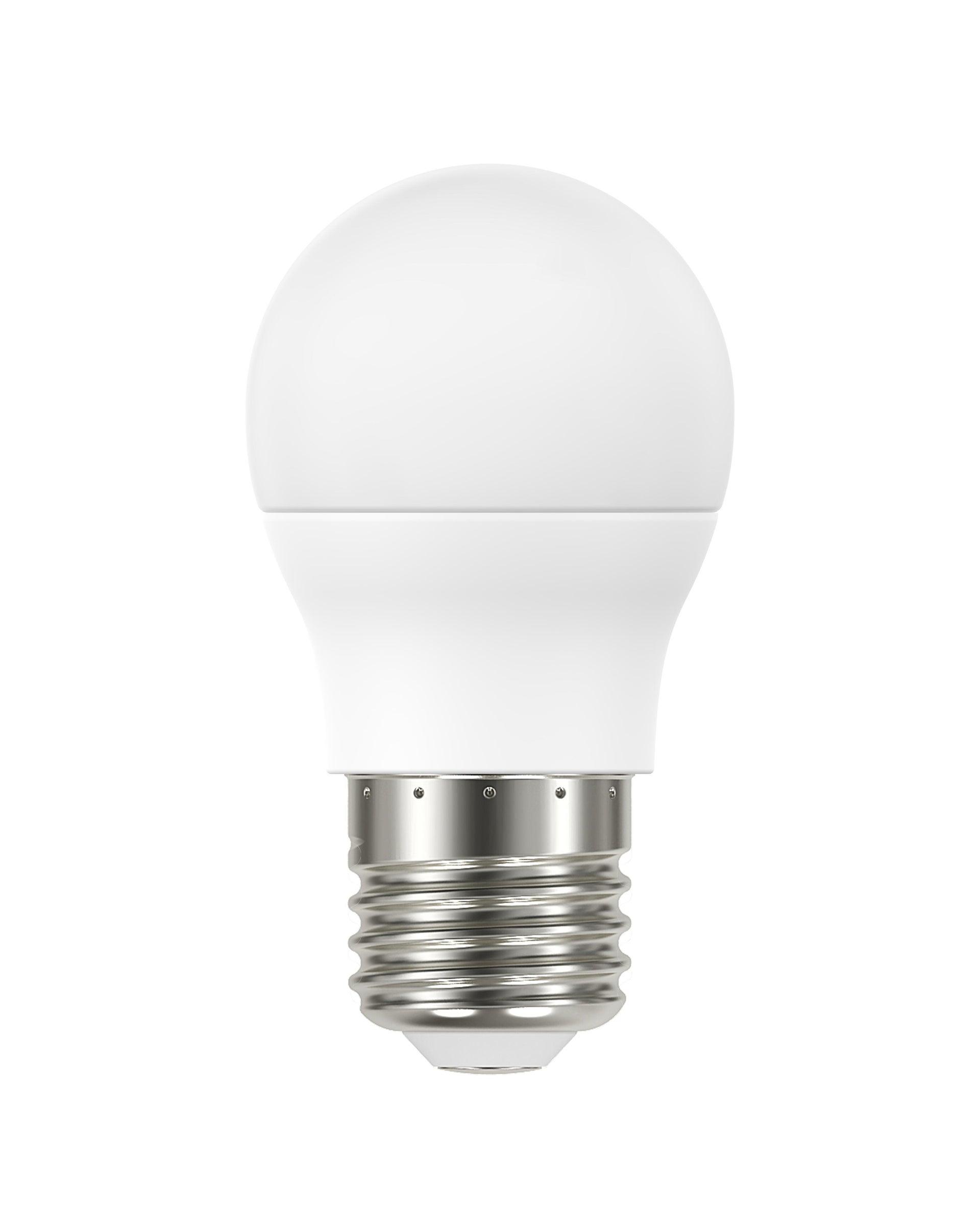 Lampadina LED, E27, Sferico, Smerigliato, Luce calda, 8W=806LM (equiv 60 W), 220° , LEXMAN - 1